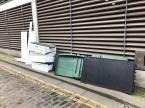 Fly tipping, this spot is quickly becoming a favourite spot for fly tippers-270 Kingsland Road, London, E8 4DG