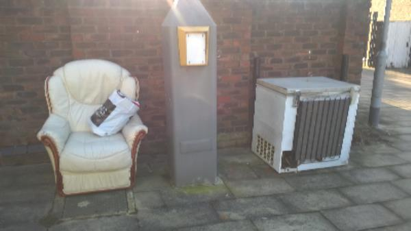 Chest freezer, armchair bag clothes.  -30 Beardsfield, London, E13 0LD