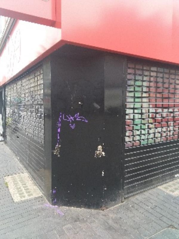 tagging on virgin media near click tower-1 Gallowtree Gate, Leicester LE1 5AD, UK