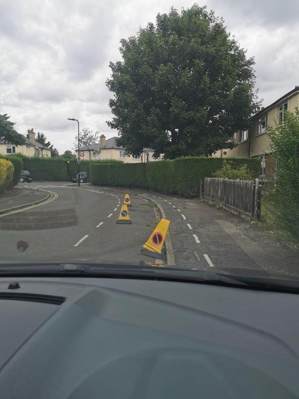 Resident reported it to Highways 