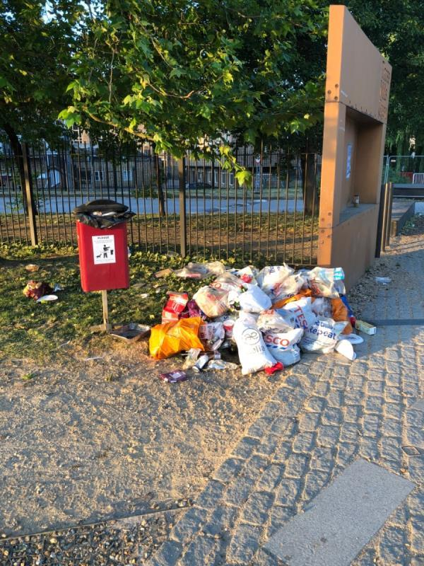 Three mills island park is absolutely filthy -Custom House Three Mill Lane, London, E3 3DU