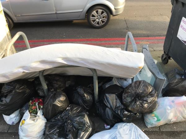 Bin bags and furniture-316a Oxford Road, Reading, RG30 1AD