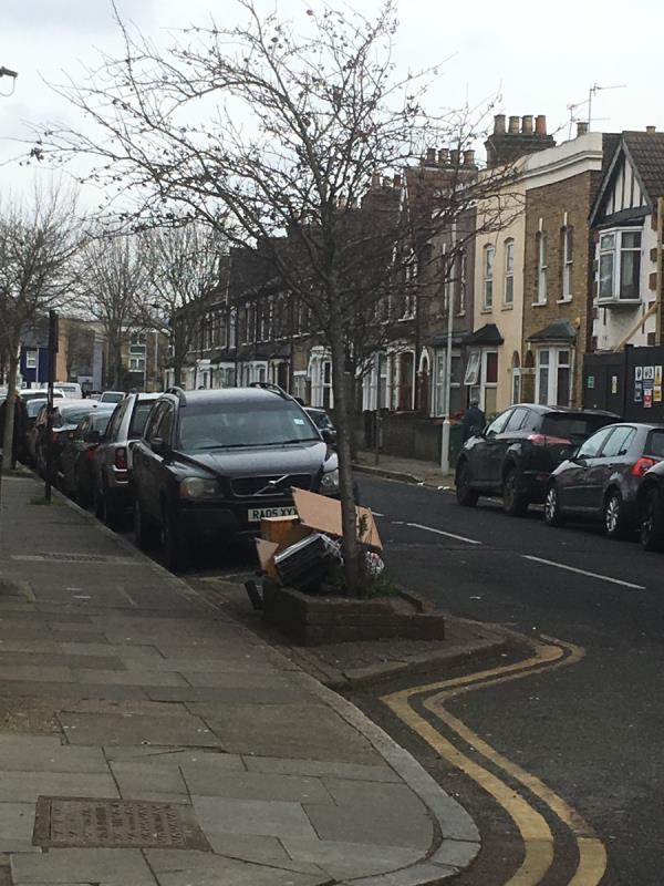 More flytipping, the usual spot on LOUISE ROAD-43b Water Lane, London, E15 4NL