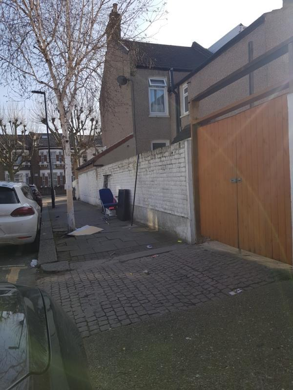 As always aidé of our house used as a dumping spot-61 Thorngrove Road, Plaistow, E13 0SH