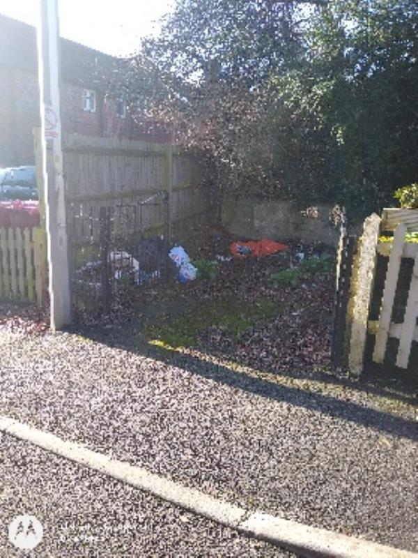 fly tipping-1 Lower Field Road, Reading, RG1 6AT