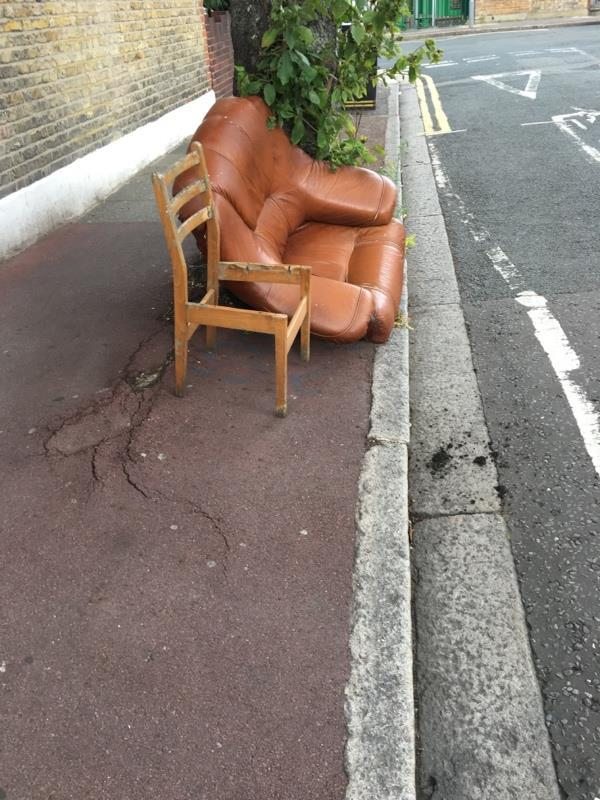 Fly tipping  -32 Upton Avenue, London, E7 9PN