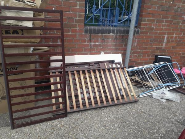cot bed cardboard boxes-8 Townley Court, London, E15 4JU