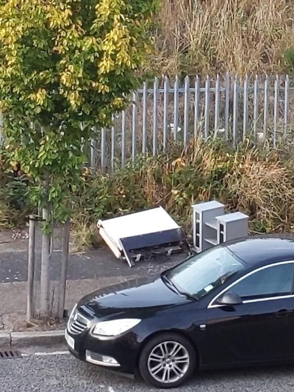 load of shit dumped by Holly Court residents again -32 Saint Andrew's Road, Plaistow, E13 8QD