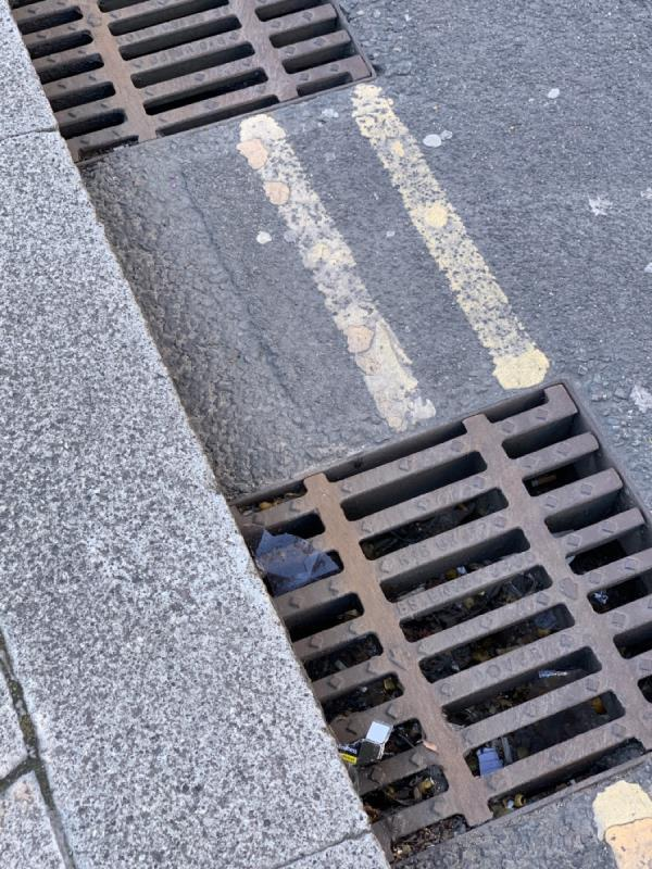 Blocked drains at the junction of liberty bridge road and celebration ave-52-54 Celebration Avenue, London, E20 1DB