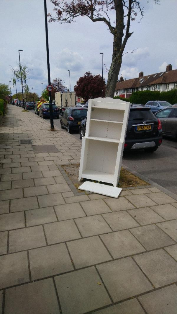 Dumped Furniture on pavement outside 263 Whitefoot Lane -263 Whitefoot Lane, Bromley, BR1 5SE
