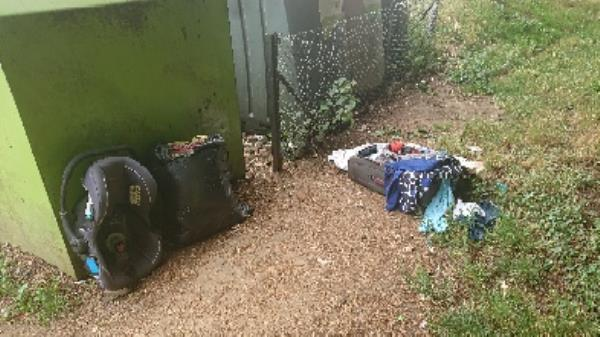 House old waste removedl fly tipping on going at this site  image 1-54 Liebenrood Road, Reading, RG30 2ND