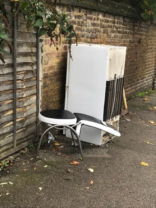 Please clear a fridge-2 Cudham Street, London, SE6 2JA