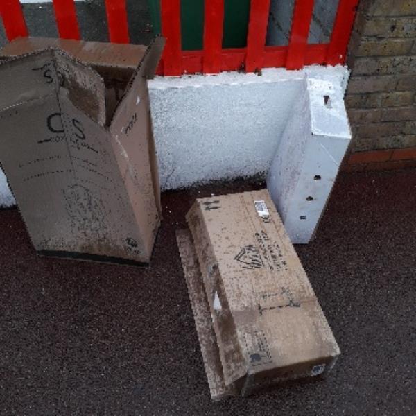 3 boxes-209 Monega Road, London, E12 6TT