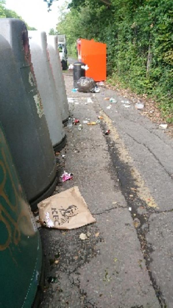 House old waste removedl fly tipping on going at this site  image 1-Wellington Avenue, Reading RG2 7BJ, UK