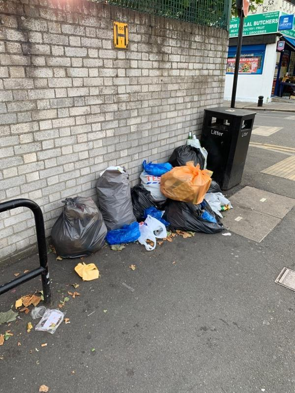 Household waste -128A Bristol Rd, Forest Gate, London E7 8QF, UK