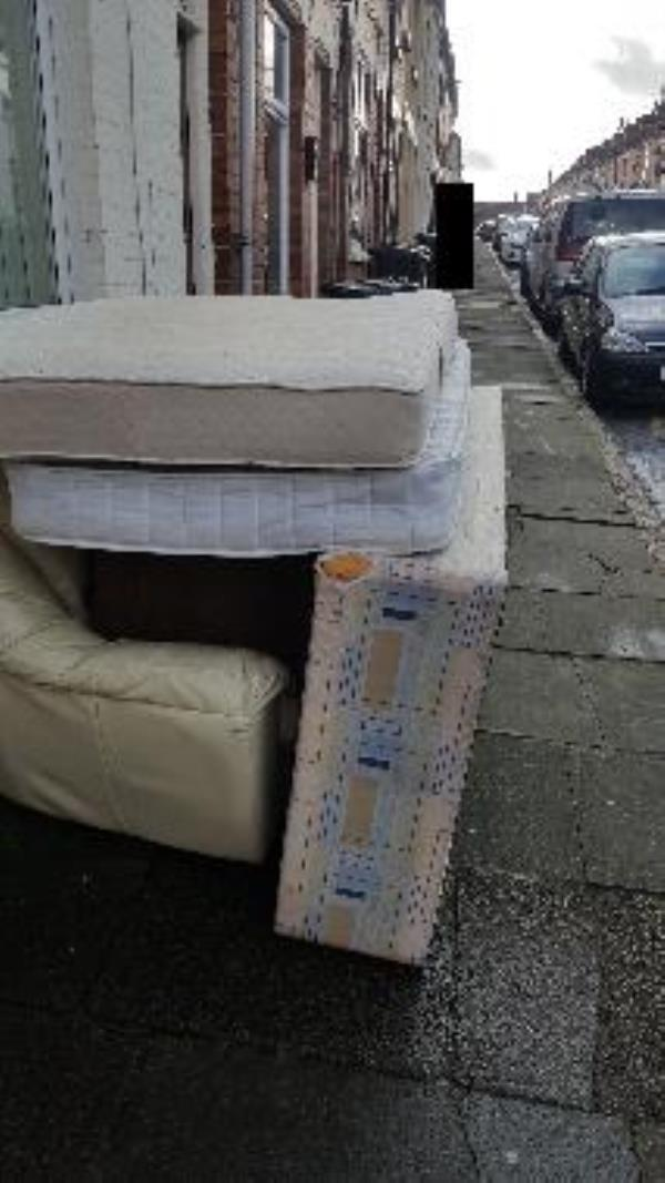 Illegal Fly tip Tyrrell Street-63 Tyrrell Street, Leicester, LE3 5HH