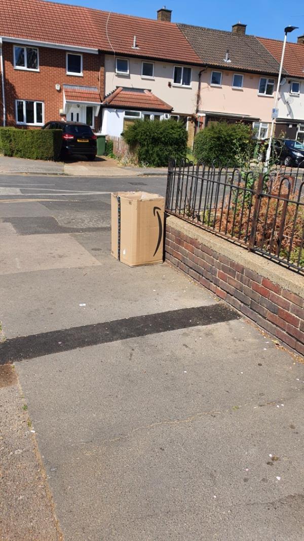 large box-22 Gurney Close, London, E15 1SJ