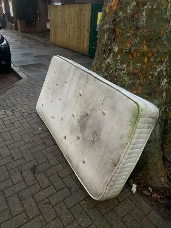 Fly tipping -56 Winchester Avenue, Leicester, LE3 1AW