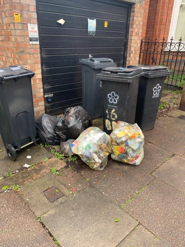 Constant fly tipping -60 Harrow Road, Leicester, LE3 0JY