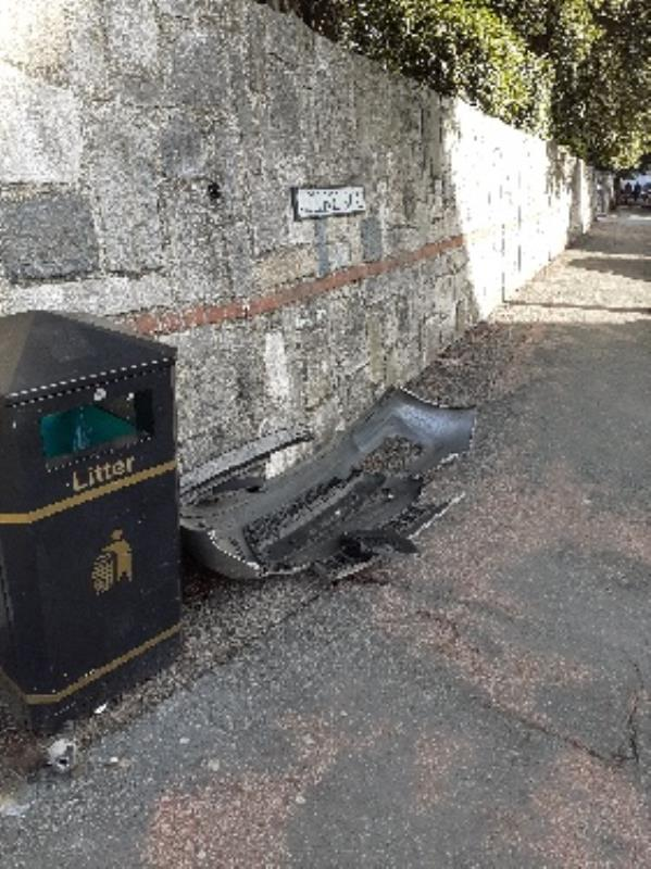 front bumper of car on pathway-Park House, 18 College Road, Eastbourne, BN21 4JA