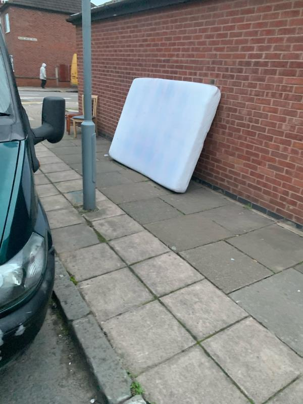 Residents of 1 Hazelwood road continue to flytip on kedleston road corner.  Warden needs to issue warning.  Corner was cleared just last week!  Enough is enough. -1 Hazelwood Road, Leicester, LE5 5HR