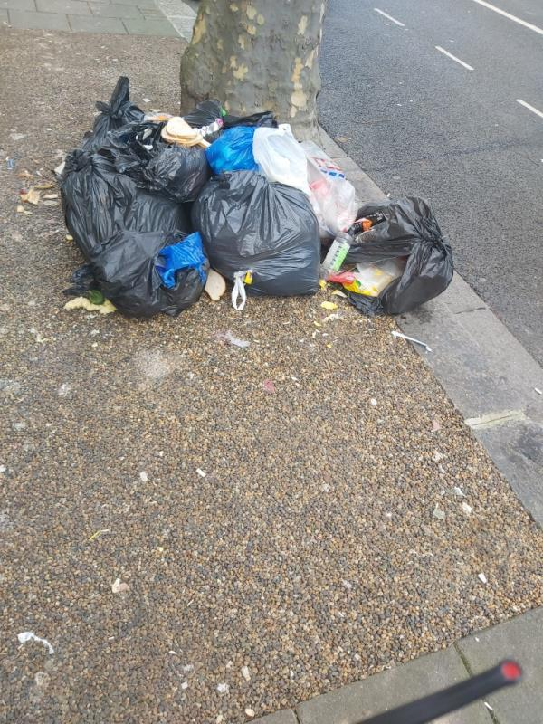 Fly tip -484 Romford Road, Green Street East, E7 8AP