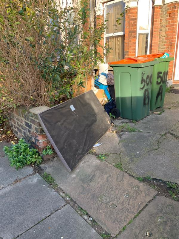 This is the most dirty part of the road  image 1-500a Katherine Road, London, E7 8DP