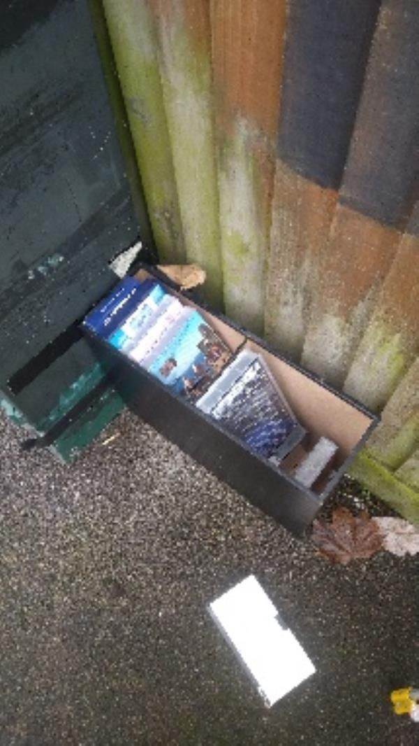 Flytipped videos no evidence taken -95 Greenfields Road, Reading, RG2 8SG