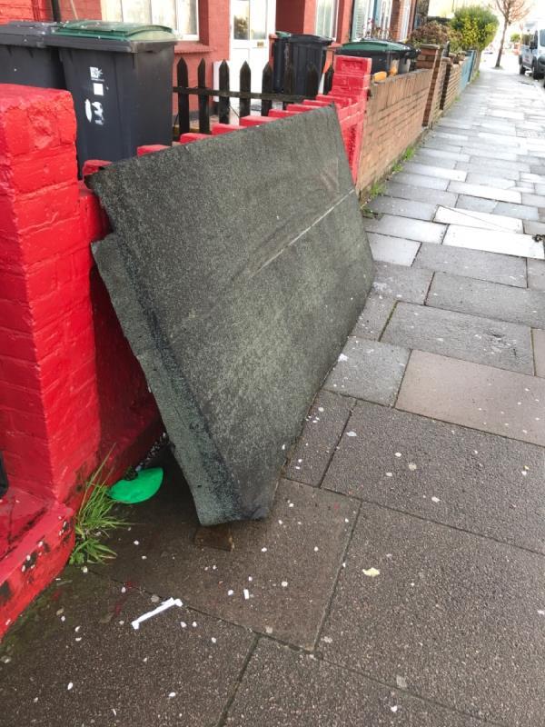 Dumped roof -2a Thackeray Avenue, London, N17 9DY