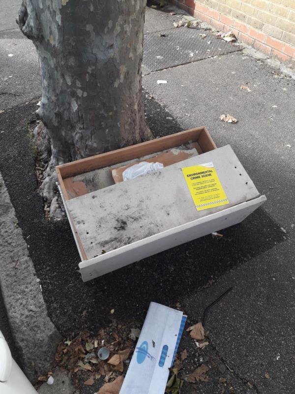 wooden drawer -3 Rosebery Ave, London E12 6PY, UK