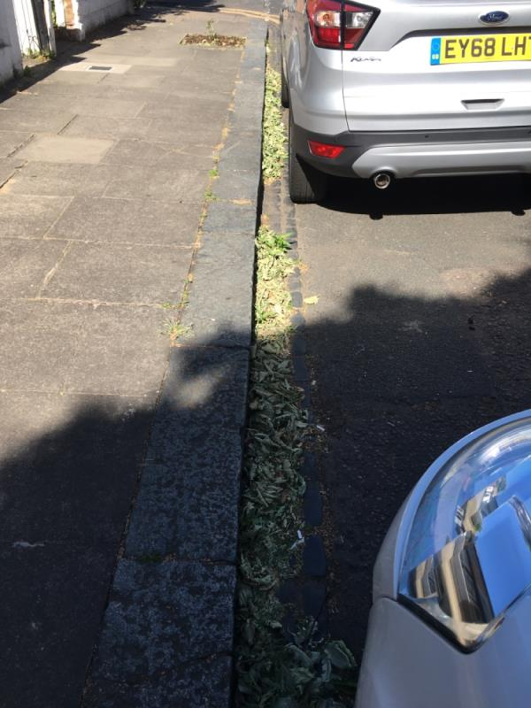 Street needs to be swept regularly...-30 Strode Road, London, E7 0DU