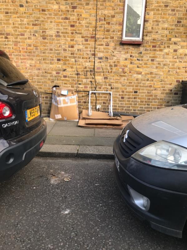 Cardboards -6 Elmer Road, London, SE6 2ER