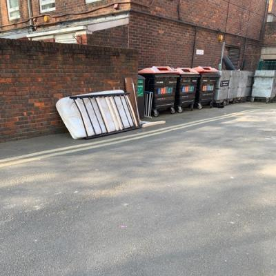 Mattress and other furniture -London Fields West Side, Blackstone Estate, London E8 3HQ, UK
