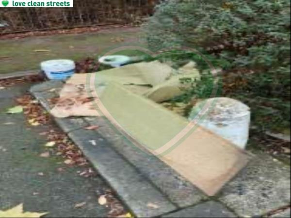 Please clear flytip-53 Childeric Road, London, SE14 6DQ