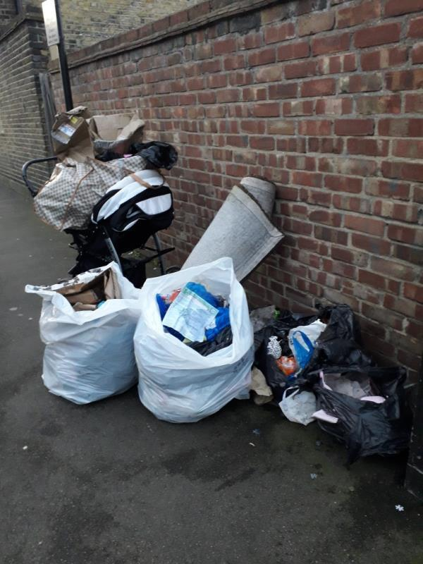 household waste -1 St Olave's Road, London, E6 2NT