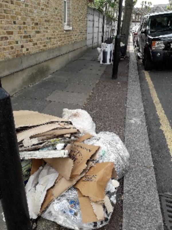 fly tip x2-35 St Stephen's Rd, Upton Park, London E6 1AN, UK