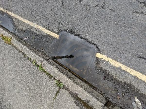 Road drain broken. I have been reporting this issue for 18 months and the issue has not been resolved. The first drain in Tushmore lane adjacent to the hand car wash is pumping out dirty stagnant water which is now all over the footway and road. This issue disappeared for 3 months  during lockdown with the closure of the car wash but has now reoccurred since the car wash has reopened. An elderly lady fell this morning at approx 0830 whilst trying to avoid the area. I was informed she went to A&E-2 Tushmore Lane, Crawley, RH10 8JJ