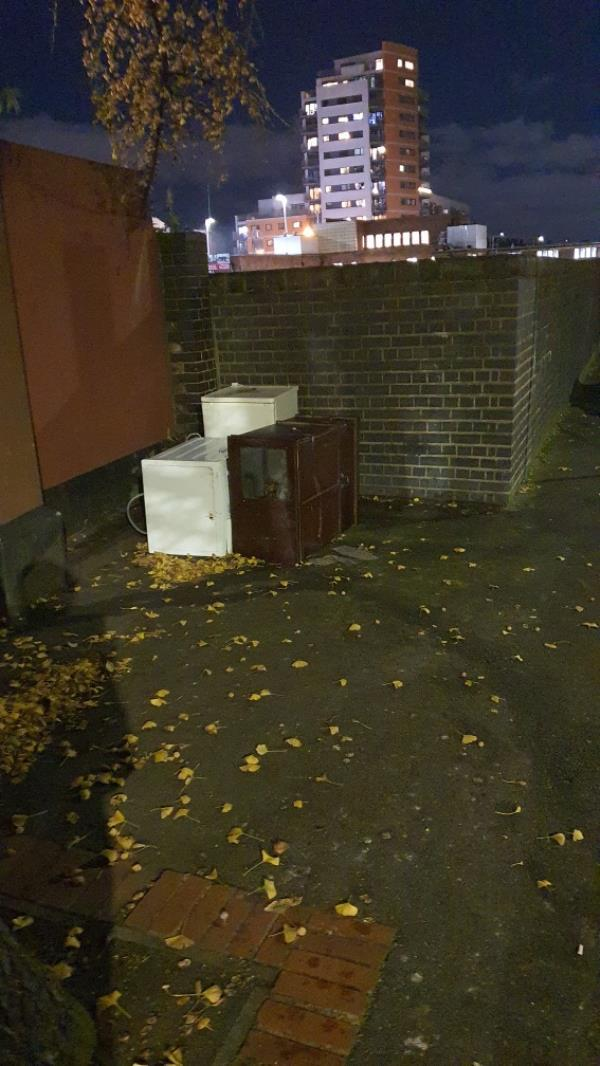 fridges, cupboard -3 Manbey Park Road, London, E15 1EY