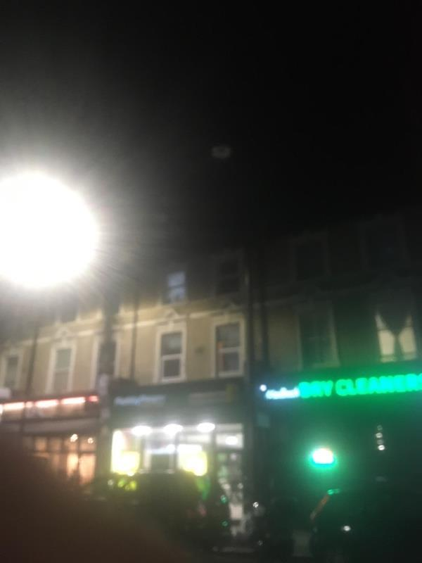 2 lights out opposite each other  image 1-39b Woodgrange Road, London, E7 0QH