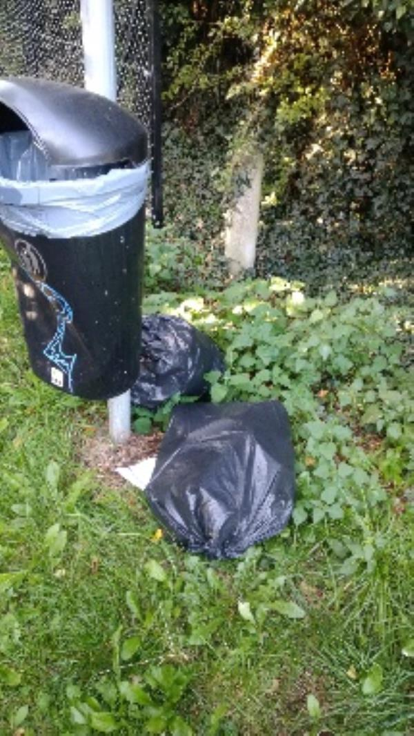 Flytipped household waste no evidence taken -29 Lower Meadow Road, Reading, RG2 7LZ