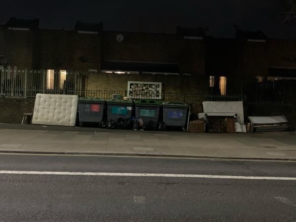 As seen in pictures -152 Barking Road, East Ham, E6 1LZ