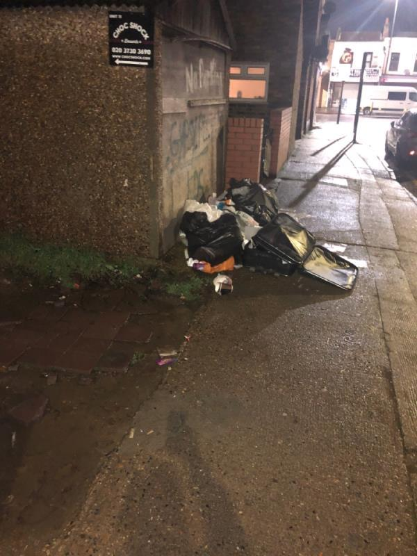 Fly tip-1 Navarre Road, London, E6 3AQ