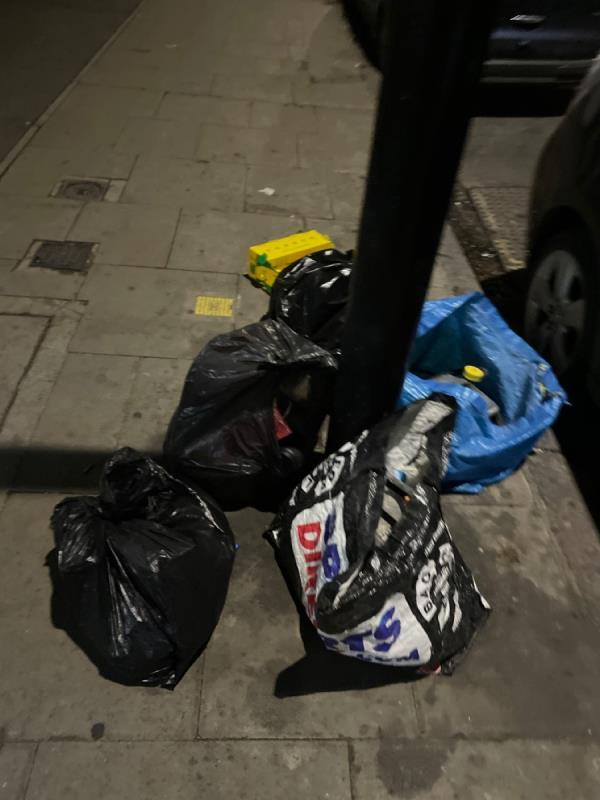 Rubbish -191 Plashet Road, Plaistow, E13 0QZ