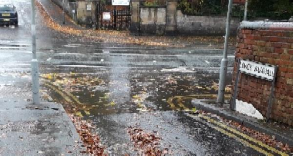 Second request as nothing done yet. Road drains blocked at lower end of Lower Vauxhall and various nearby drains on Tettenhall Road all leading to flooding during rain.-89 Tettenhall Road, Wolverhampton, WV3 9NQ