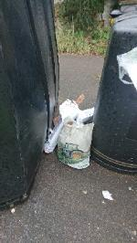 House old waste removedl fly tipping on going at this site  image 1-27 Arbour Close, Reading, RG1 6DA