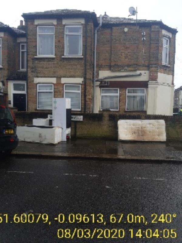 Corner of Norman Avenue at the side of 44 Eldon Rd John Farren ASB Enforcement Officer  Woodside Ward -46a Eldon Road, London, N22 5EE