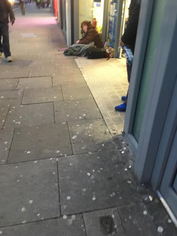 FAO ASB team, 3 beggars outside tesco again today. Something needs to be done. Man was harassing me bigtime when I entered the shop-21-23 Woodgrange Road, London, E7 0QR