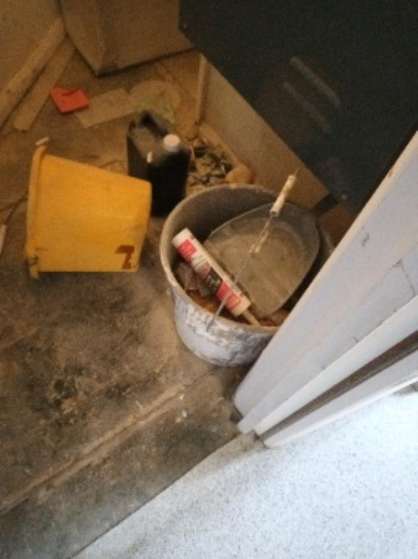removal of building rubbish, electrical cupboard 4-20 Jimmy Green Court Coronation square-15 Virginia Way, Reading, RG30 3QJ