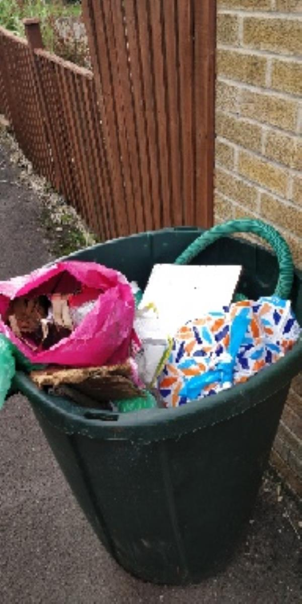 flytipping from a house move-52 Kingsley Close, Reading, RG2 8TX