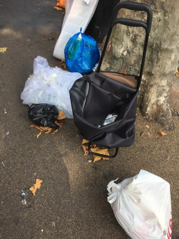 Rubbish dumped -6 Saint Stephen's Road, East Ham, E6 1AW